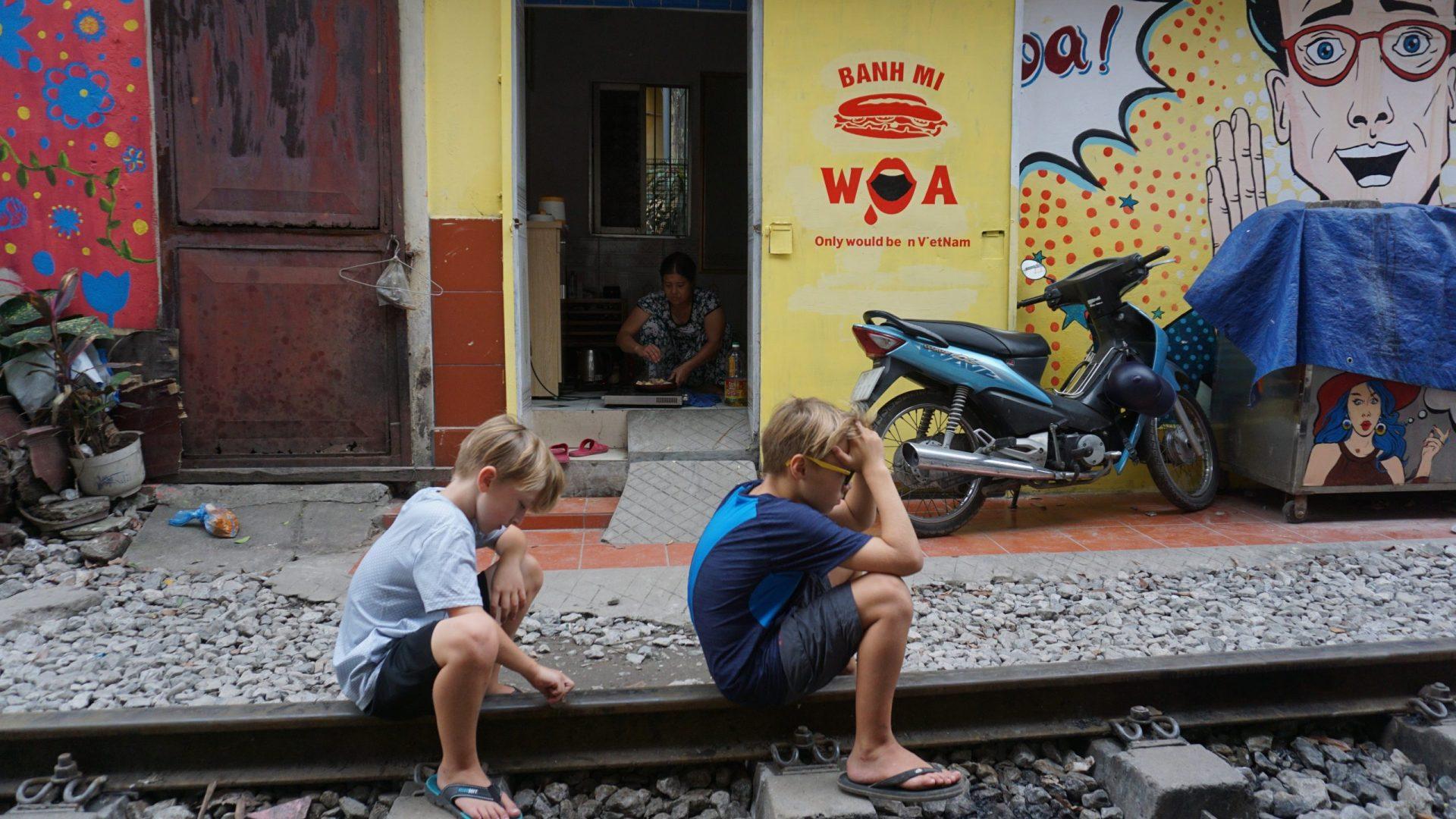 Comment ne pas oublier vos enfants pendant un tour du monde?