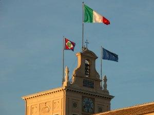 Il 'tetto' del Quirinale, detto 'Torrino', dove riceve i suoi ospiti il Capo dello Stato, oggi Mattarella