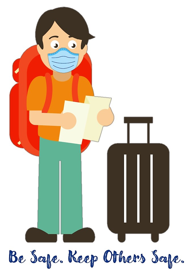 To link others to CDC website that has PPE Guidelines for Travelers in regards to wearing a mask.