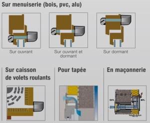 Montage des entrées d'air neuf pour VMC simple flux