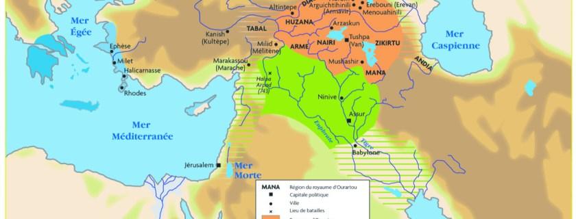[Conférence] Les liens entres l'Ourartou et l'Arménie