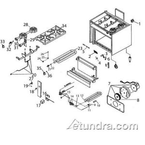Jade  JSR422C  Jade Convection Oven Parts   eTundra