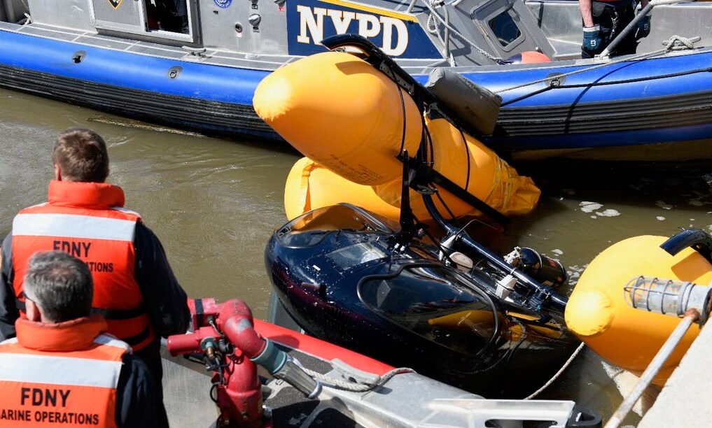 Hudson River takes on another air crash 1