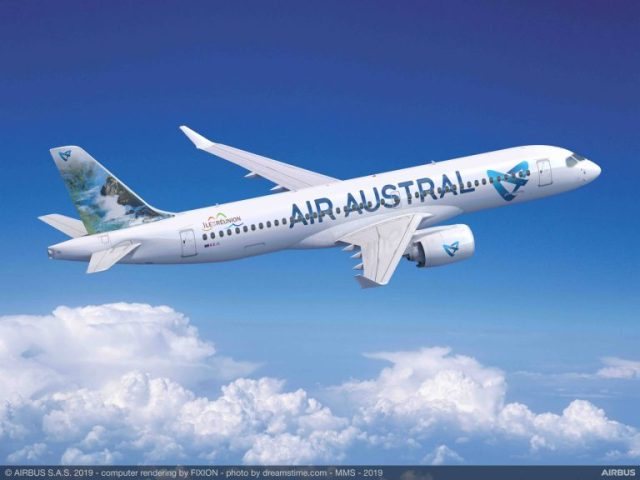 Reunion based Air Austral becomes first A220 client in the Indian Ocean