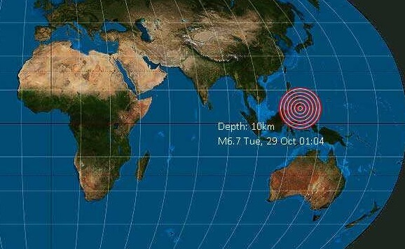Huge 6.6 earthquake rocks Mindanao, Philippines