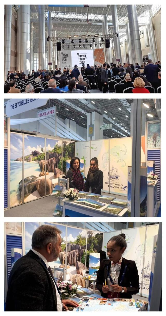 The Seychelles Tourism Board Brings Island Paradise to Turkey Travel Trade Fair
