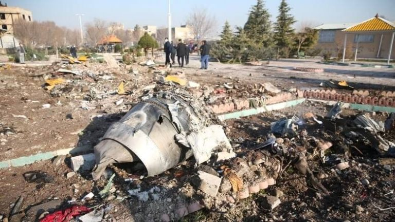 Five countries demand compensation from Iran for downed Ukrainian Boeing