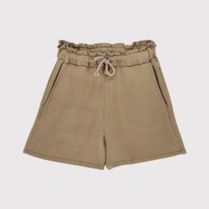 Short lava taupe