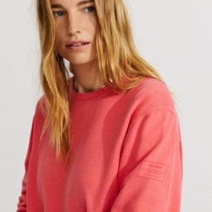 Sweat Basicalf – fuchsia