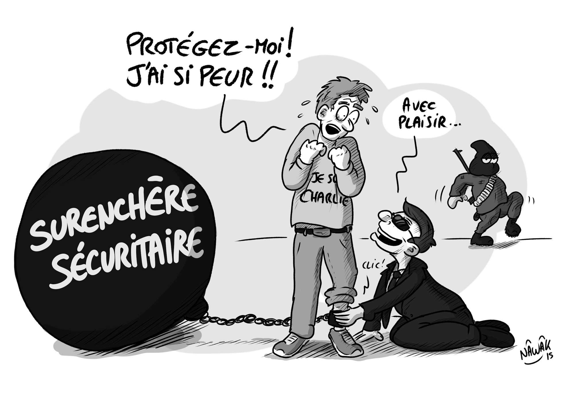 La France dérogera à la Convention européenne des droits de l'Homme en adoptant un  Patriot act ?