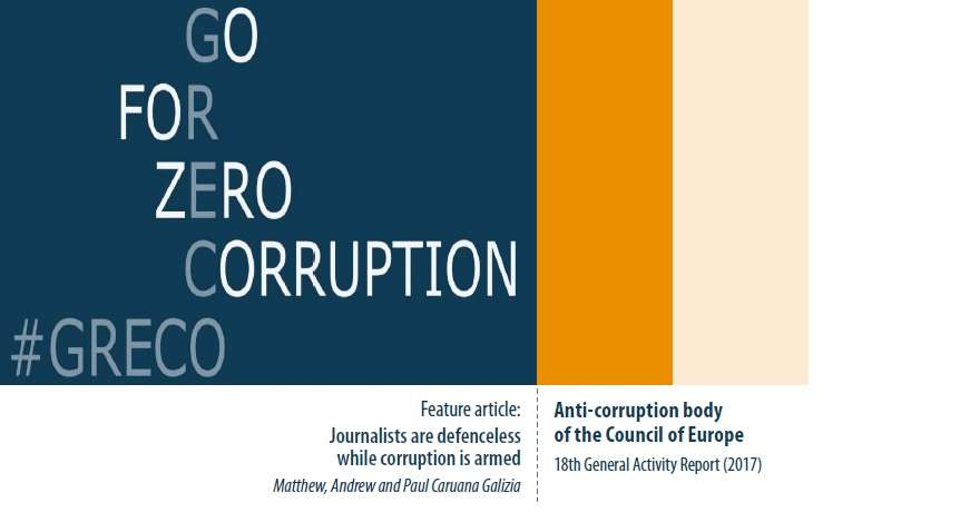 Report | Eighteenth General Activity Report (2017) of the Group of States against Corruption