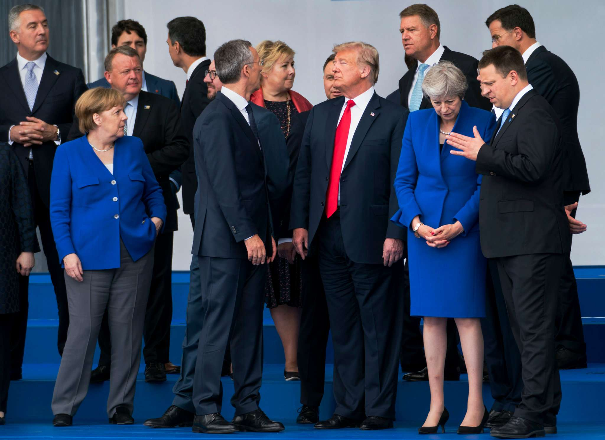 #FactOfTheDay 12/07/2018 – Like a bull in China shop, Trump at the NATO summit