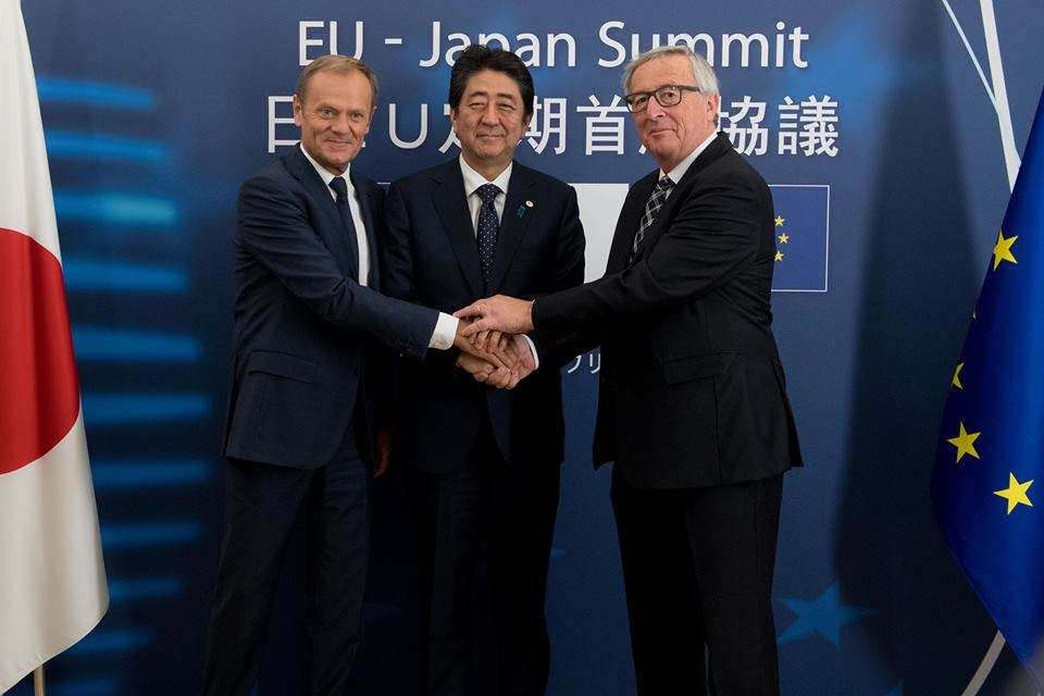 "#FactOfTheDay 17/07/2018 – EU – Japan trade deal to ""reject protectionism"""