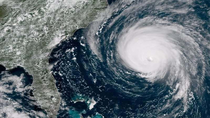 """#FactOfTheDay 13/09/18- Huricane Florence: the """"Mike Tyson punch to the Carolina coast"""", warned Jeff Byard of the Federal Emergency Management Agency (FEMA)"""