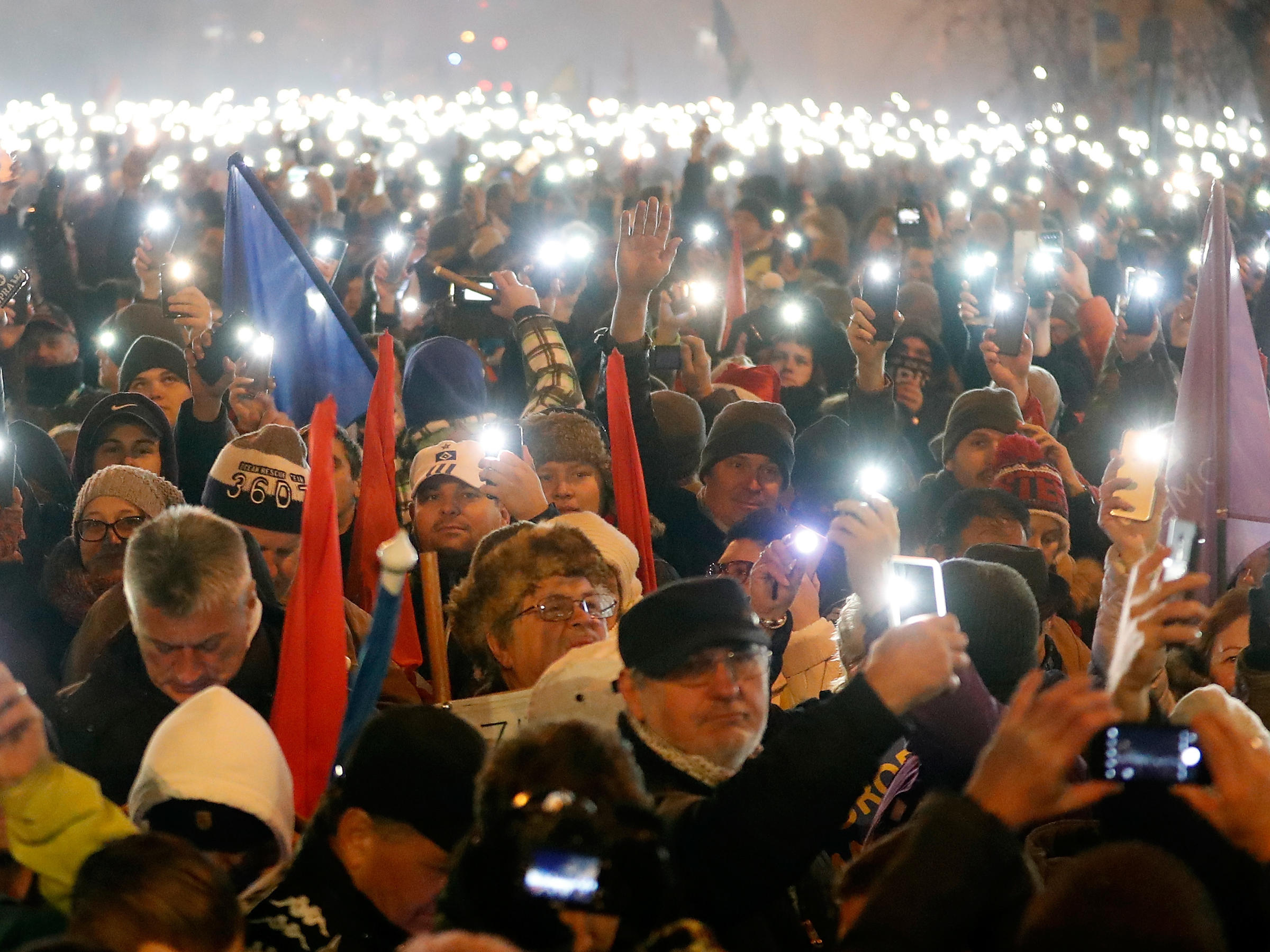 #FactOfTheDay 17/12/18 – Hungary: thousands protest against Viktor Orban's governement