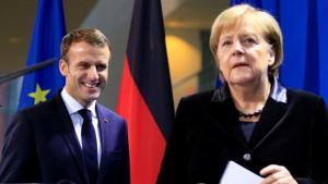 #FactOfTheDay 23/01/19 – Macron and Merkel sign a French-German treaty in Aachen.