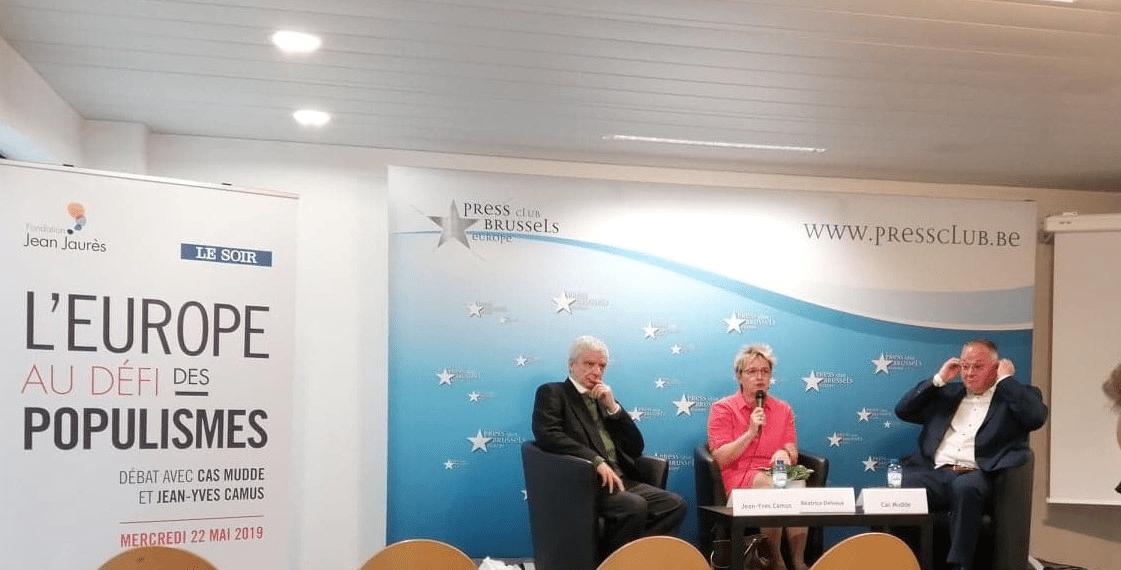 Compte rendu : Conférence/Débat « L'Europe au défi des populismes » du 22 mai 2019