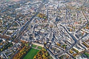 Bildinhalt: Panorama Luftbild von Bonn Nordrhein-Westfalen