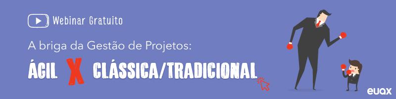 gestão de projetos ágil e clássica
