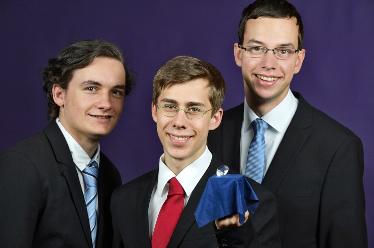 Paul (left), Friedrich (middle) and Christian (right)