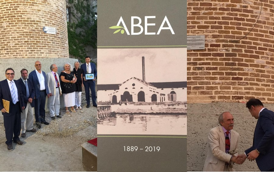 EuChemS Historical Landmarks Award plaque unveiled at industrial complex of ABEA