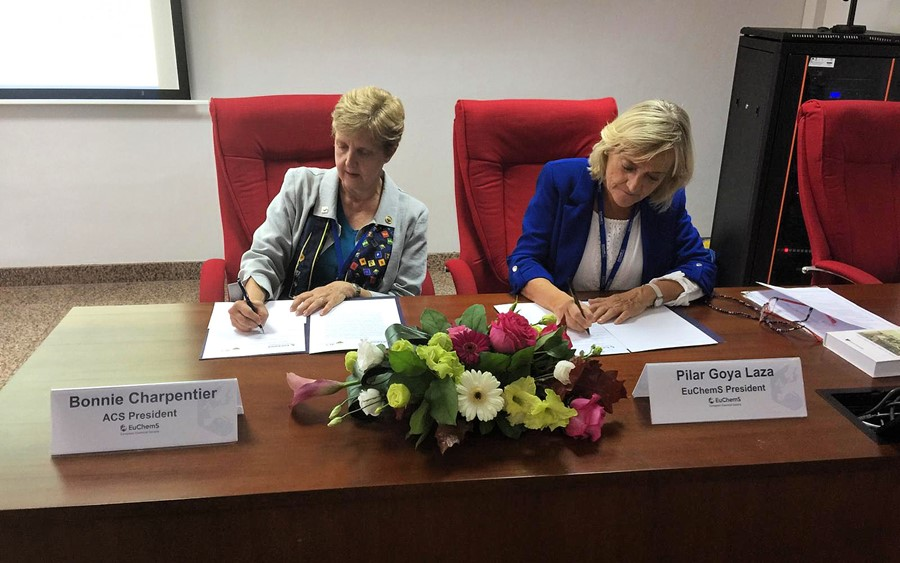 Chemistry Enterprise Partnership signed between EuChemS and the American Chemical Society