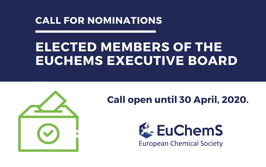 Call for Elected Members of the EuChemS Executive Board