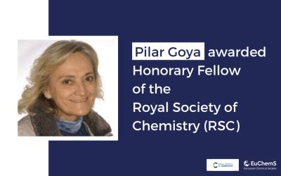 Pilar Goya awarded Honorary Fellow of the RSC