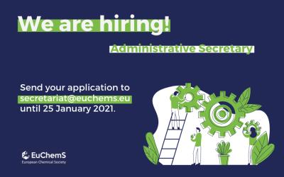 We're hiring: Administrative Secretary