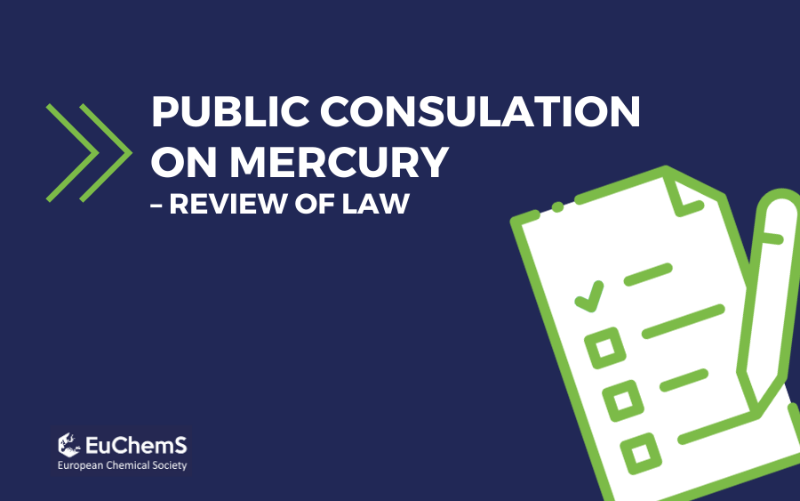 EuChemS' response the public consultation on the forthcoming repeal of the Mercury Regulation