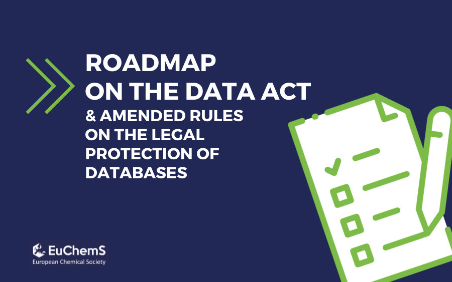 EuChemS answered the European Commission Roadmap on the Data Act