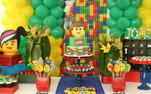 Mesa lego movie party