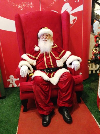 Papai Noel Shopping Tijuca