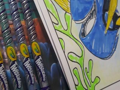 dory art kit sugestao dia das crianças