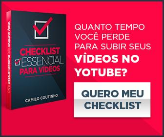 checklist essencial para vídeos