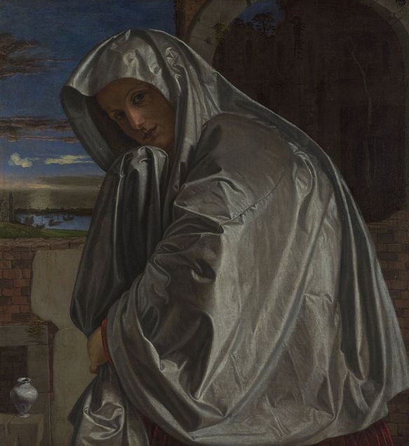 Maria Maddalena vicina al Sepolcro, di Gian Girolamo Savoldo (XVI secolo)