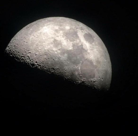 La Luna del 9 di luglio, A.D. 2019