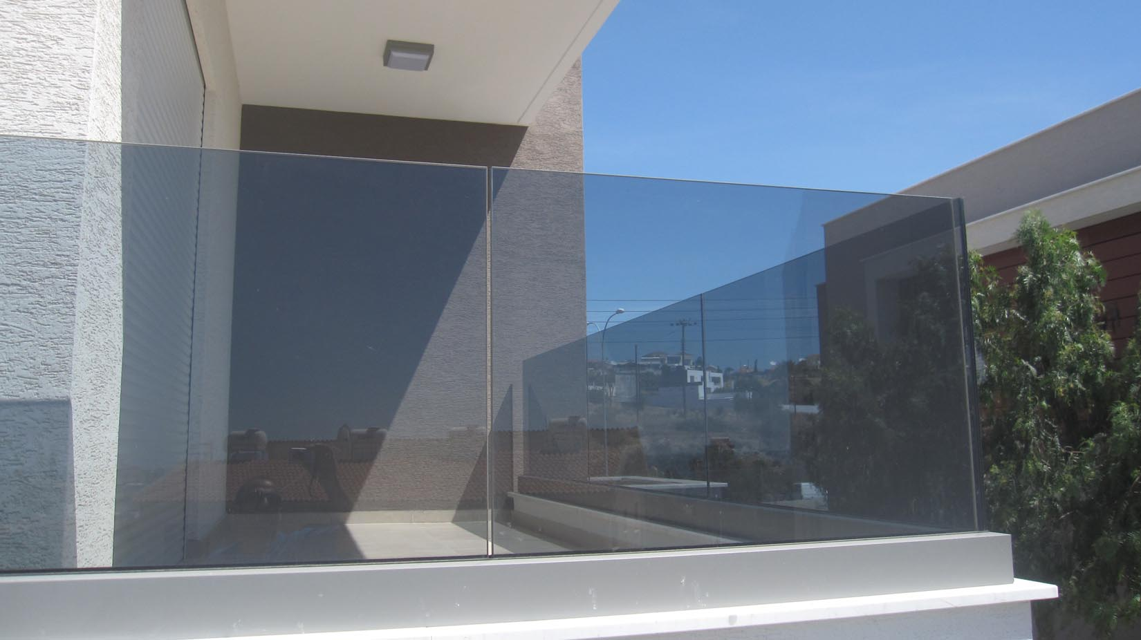 Glass Panel Eurofence