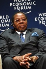 CAPE TOWN/SOUTH AFRICA, 4JUN08 - Bingu Wa Mutharika, President of Malawi, captured during the Opening Plenary of the World Economic Forum on Africa 2008 in Cape Town, South Africa, June 4, 2008. Copyright World Economic Forum (www.weforum.org)/Eric Miller, emiller@iafrica.com