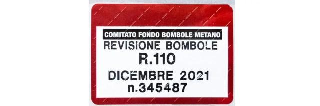 Etichetta adesiva bombole
