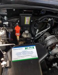 impianto metano pickup diesel
