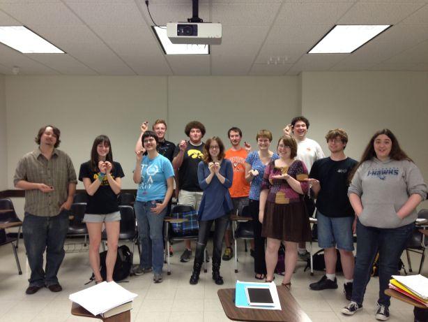 (Fantasy) Fiction Writing, University of Iowa, Spring 2013.