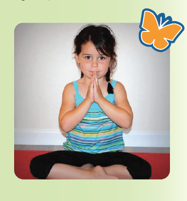 Imagination Yoga child