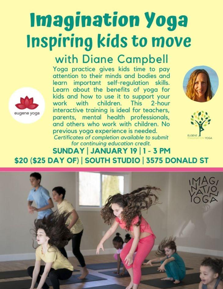 Inspiring Kids to Move workshop