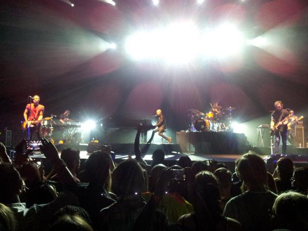 he Fray at Cape Town's Grand Arena