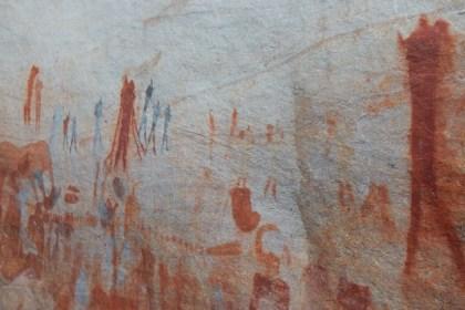 Ancient rock art at Bushmans Kloof Wilderness Reserve & Wellness Retreat (Copyright: Eugene Yiga)