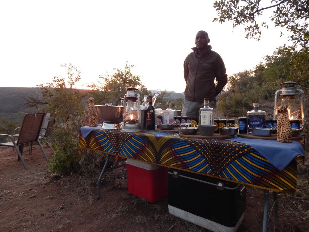 Tintswalo at Lapalala sundowners (Copyright: Eugene Yiga)