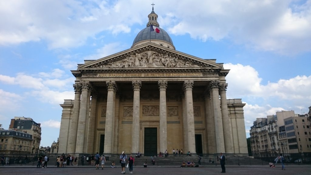 The Panthéon in Paris (Copyright: Eugene Yiga)