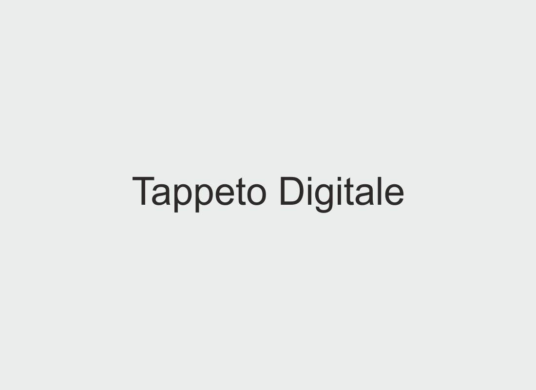 Tappeto digitale per l'Atelier Creativo