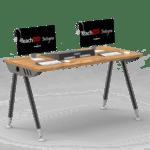 postazione doppia studente Integra PC - centralina - Monitor